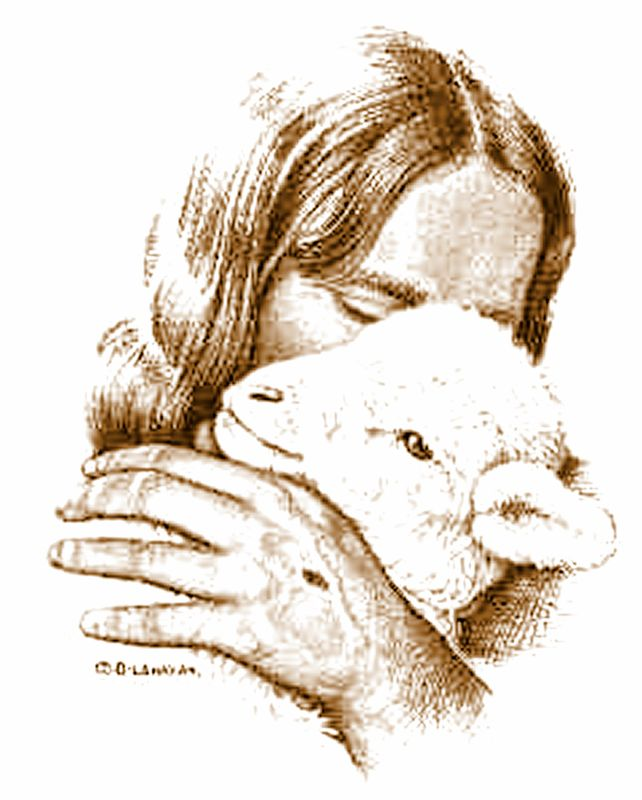 clipart of jesus with sheep - photo #42