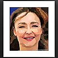 Catherine Frot cartoon