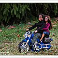 Promenade en moto