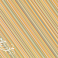 papier Diagonalesorangees