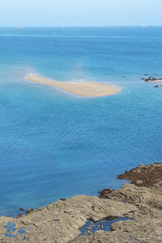 Dinard, banc de sable