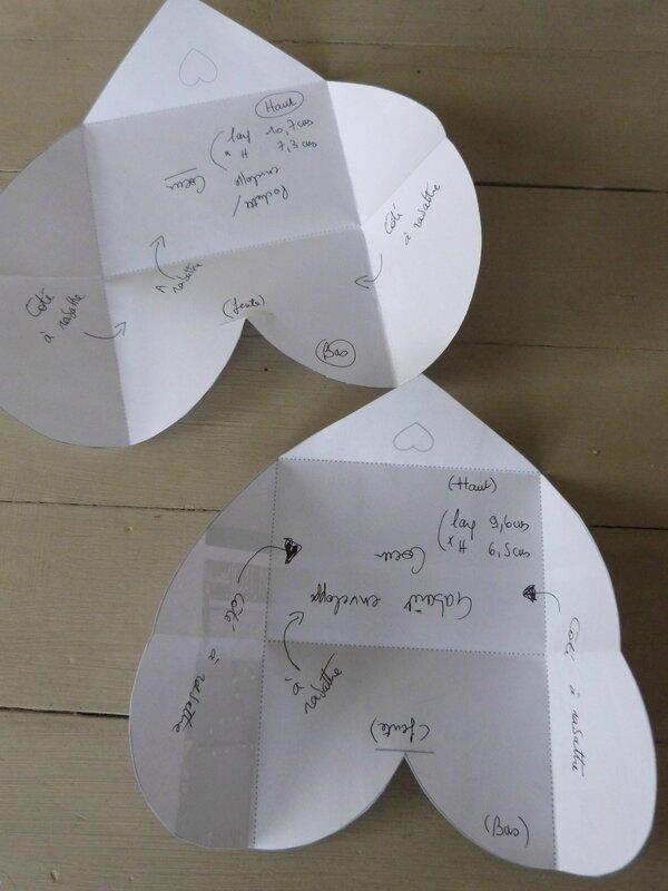 Enveloppe Coeur - Gabarit (1)