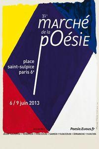 Marché de la poésie 2013