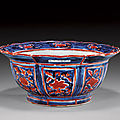 Remarkable 15th century chinese, early ming dynasty porcelain footed bowl, xuande mark and of the period
