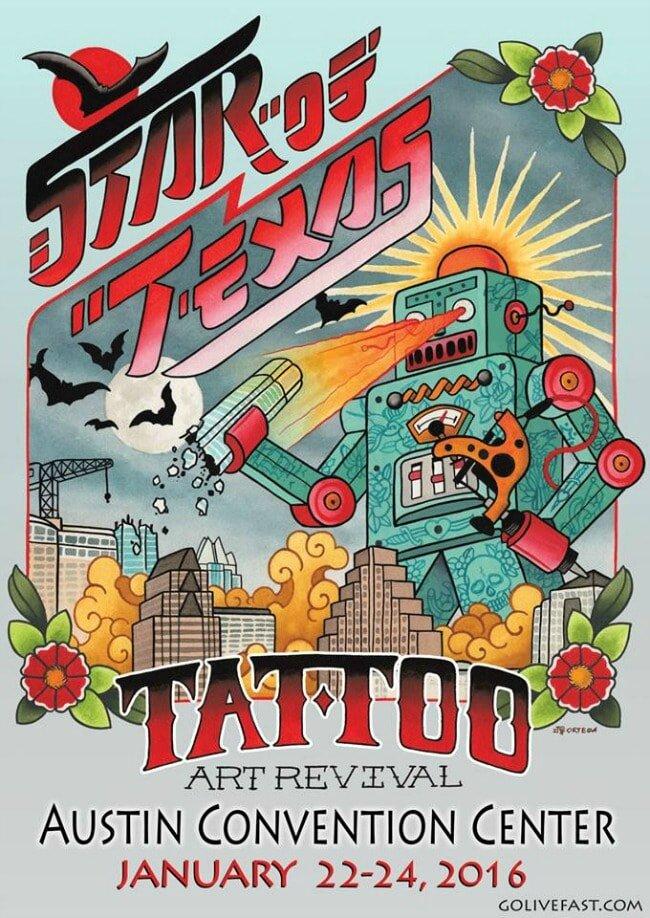 Star of Texas Tattoo Art Revival 22 - 24 Janvier 2016