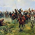Cusachs, Sedan, la charge de la division Margueritte, Vive la France