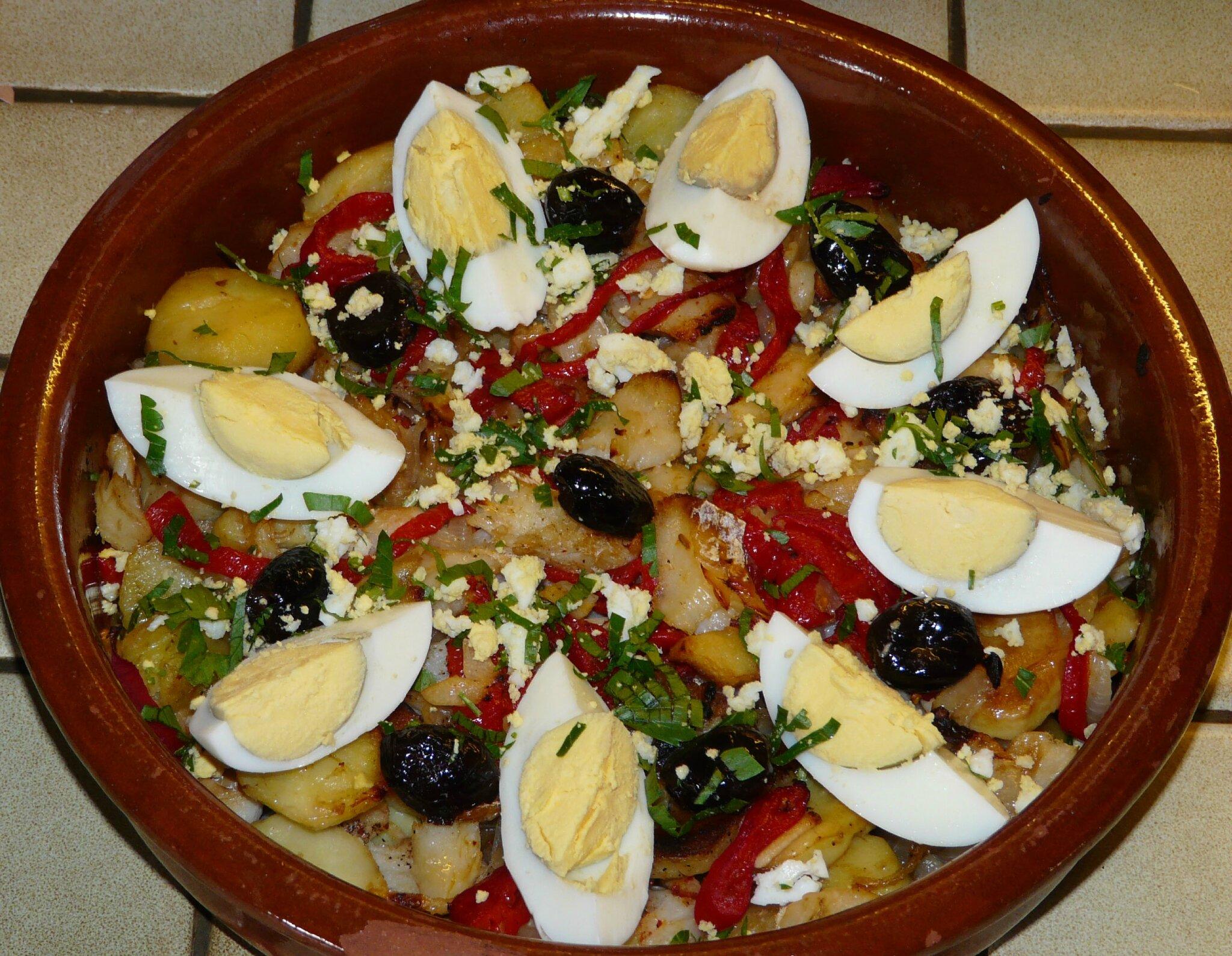 Morue la portugaise les plaisirs de ma table for Cuisine portugaise