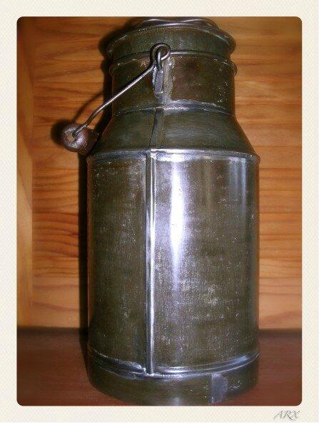 ancien bidon de lait