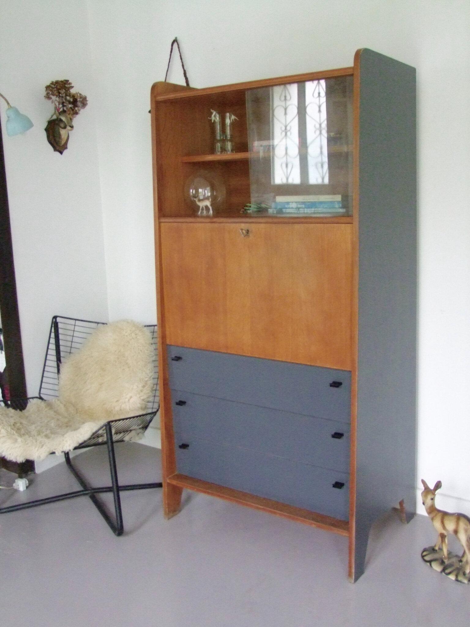 secr taire vintage tous les messages sur secr taire vintage meubles vintage pataluna chin s. Black Bedroom Furniture Sets. Home Design Ideas