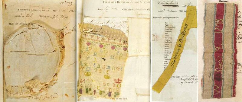 Registres London Foundling Hospital - vers 1750