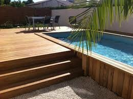 Am nager une piscine hors sol une piscine la maison for Piscine demontable bois