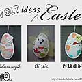 3 idées en feutrine pour pâques !!!