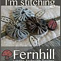 im stitching fern hill