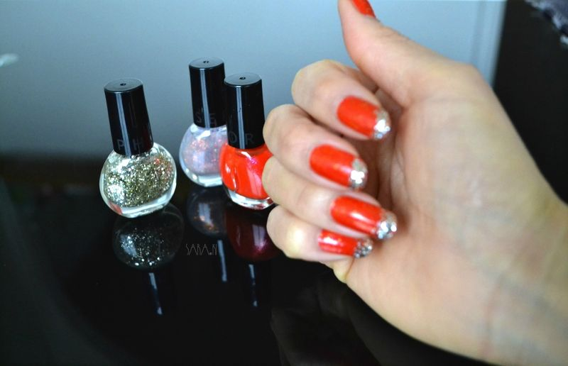 Nail Art paillettes---