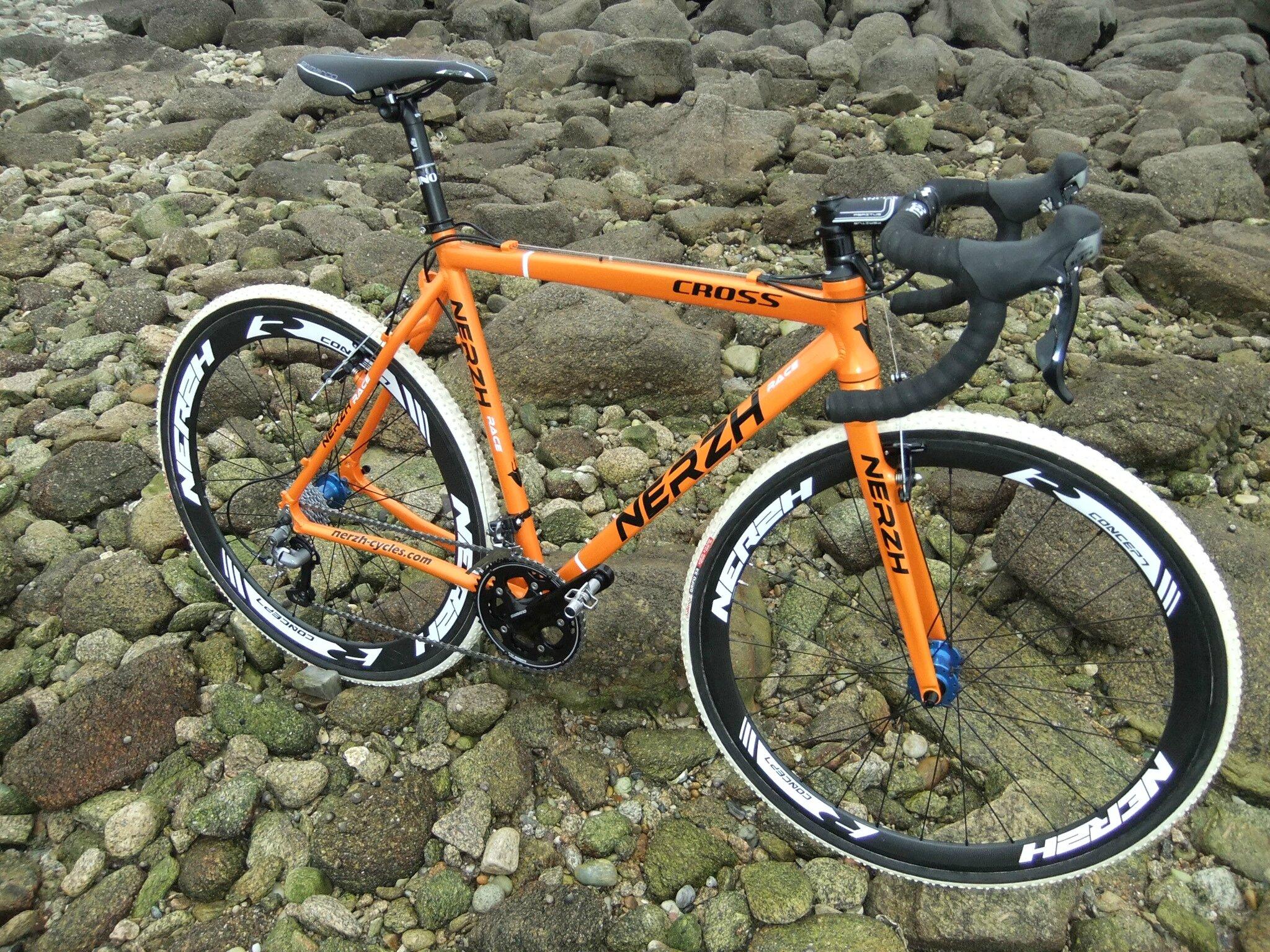cadre cyclocross alu nerzh quot cross quot nerzh cycles