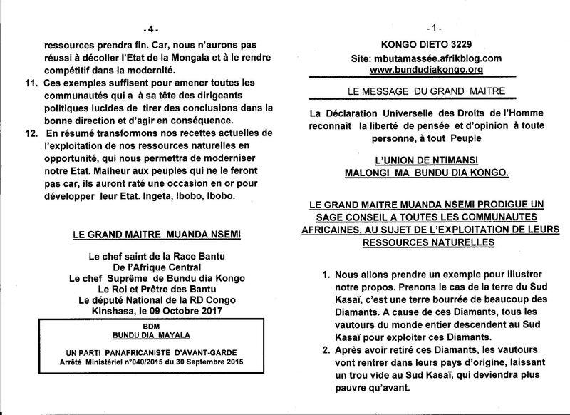 AU SUJET DE L'EXPLOITATION DE LEURS RESSOURCES NATURELLES a