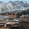 Mont Atlas Maroc