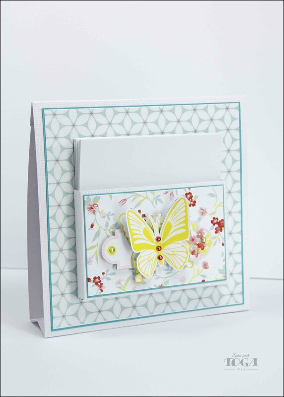 porte post-it jardin secret - DT Tacha 1p