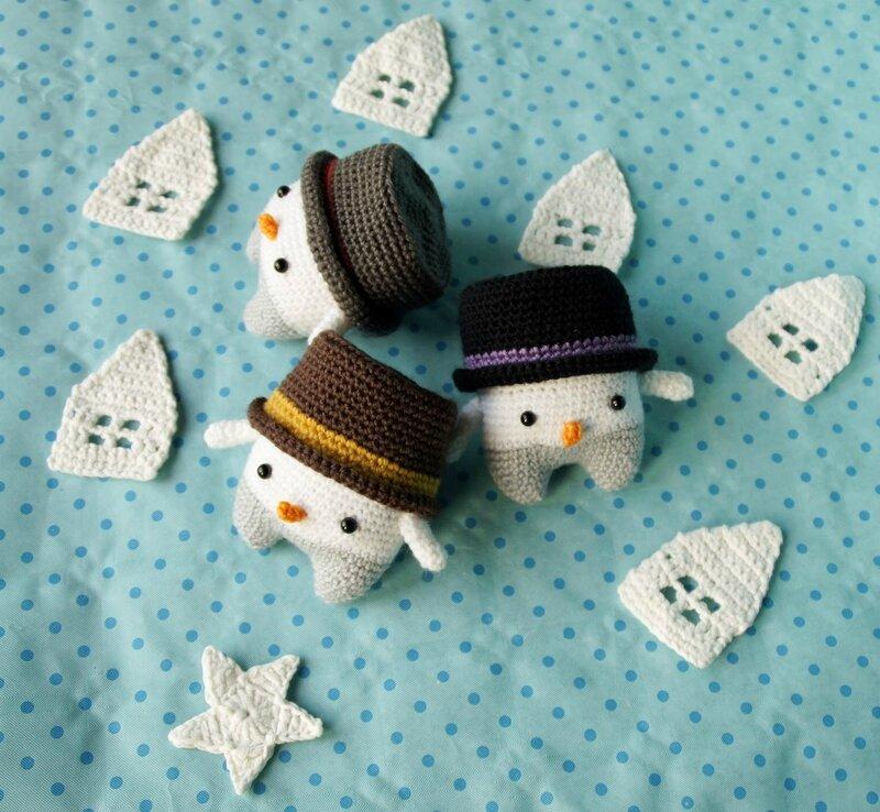 la famille bohomme de neige 5