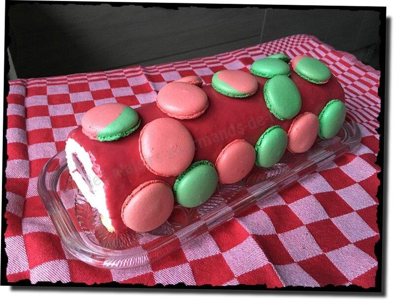 bavarois vanille insert fraise 13 déc (13b)