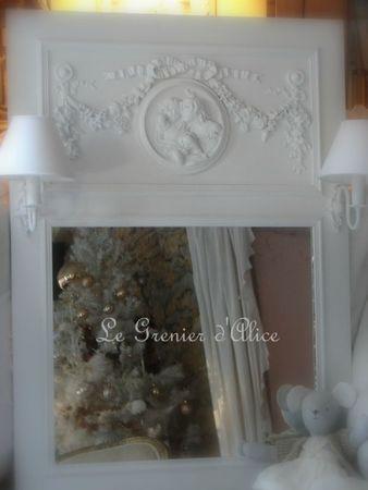 trumeau anges sur mesure applique abat jour decoration de charme