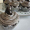 Cupcakes aux oréo®