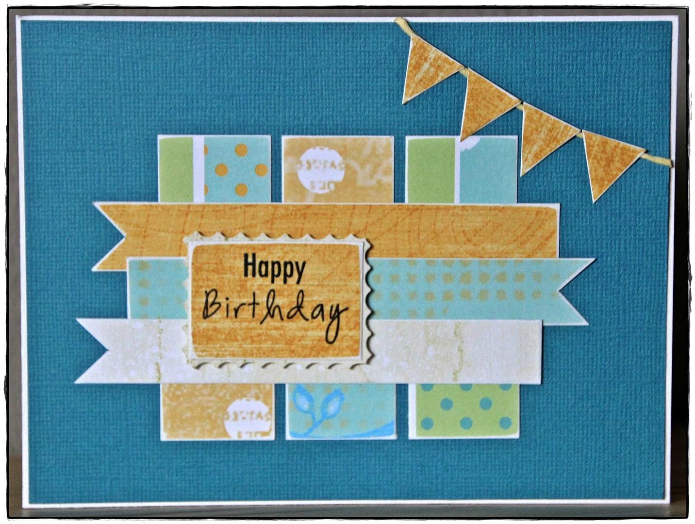 Carte anniversaire