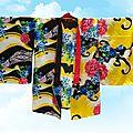 kimono Jaune court