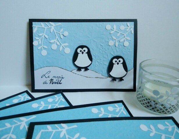 cartes voeux Pingouin (2)