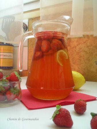 Thé glacé fraise (2)