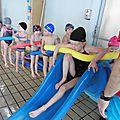 Dernière séance piscine.