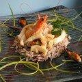 méli mélo de fruits de mer et son riz sauvage ! pour 6 à 8
