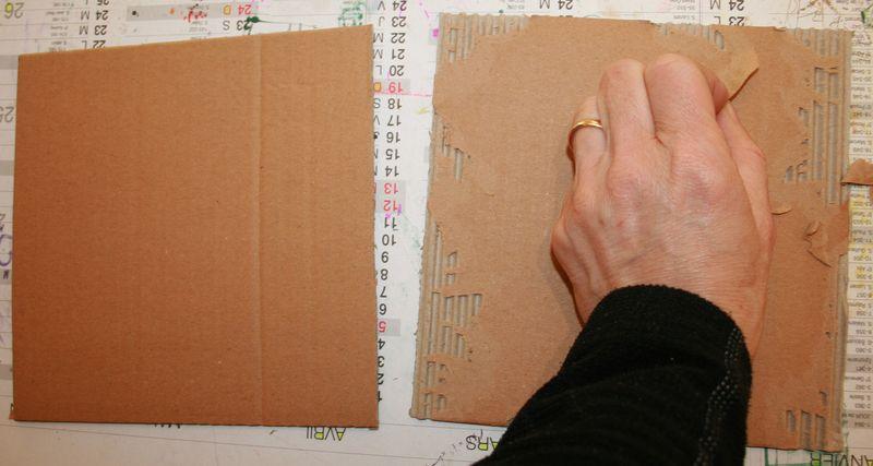 Top Ma DEMO : album en carton et papier - Mes SCRAPouillettes EB33