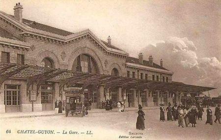 chatel la gare 1912
