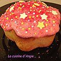 Cupcakes fraises Tagada