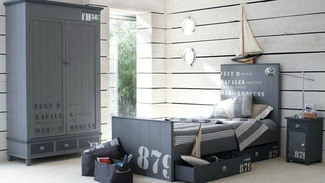 le style bord de mer dans la chambre d enfant memes. Black Bedroom Furniture Sets. Home Design Ideas