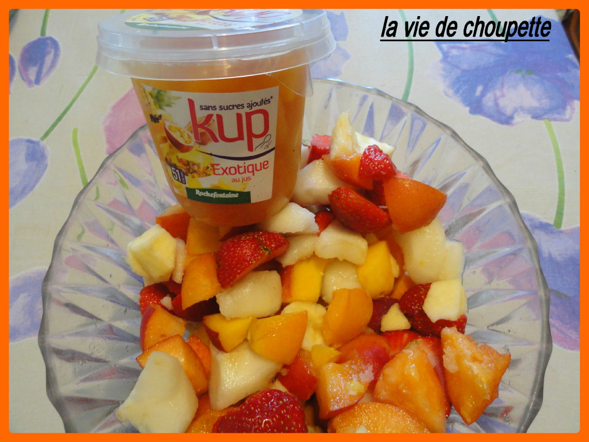 SALADE DE FRUITS LIGHT