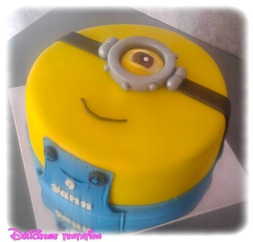 Gateau minion