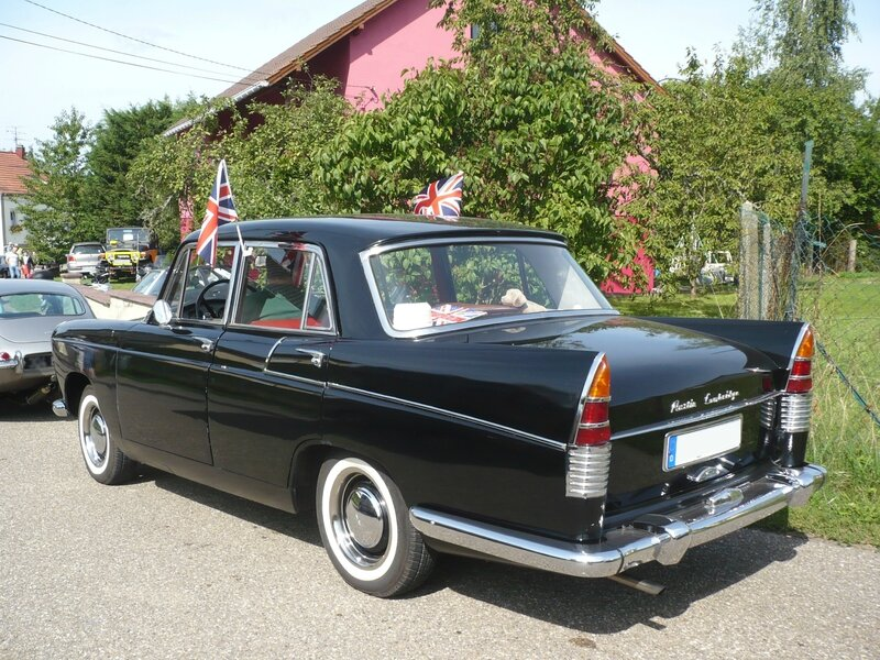 AUSTIN A55 Cambridge berline 1960 Hambach (2)