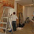 Les travaux avant ouverture
