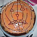Gâteau d'anniv Halloween