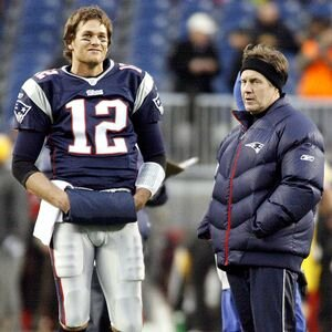 Tom brady- Bill belichick