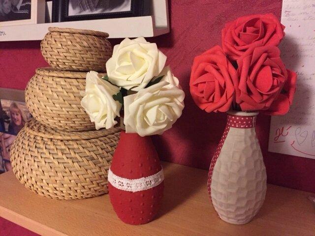 Home déco : 2 vases décorés