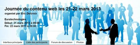 Les Journes du contenu web
