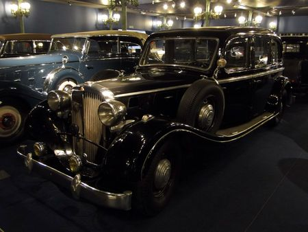 MAYBACH SW 38 Limousine 1937 Musée National de l'Automobile de Mulhouse, collection Schlumpf