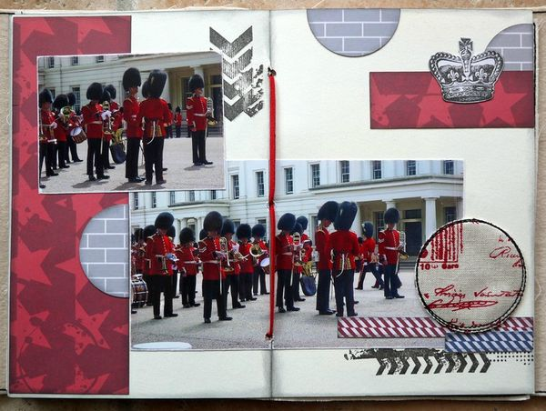 mini album Londres pages 6 et 7