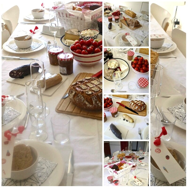 table du brunch du dimanche 21 mai 2017