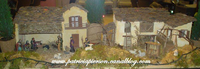Tuto village de no l miniature entre peinture et cr ation - Fausse cheminee en carton pour noel ...