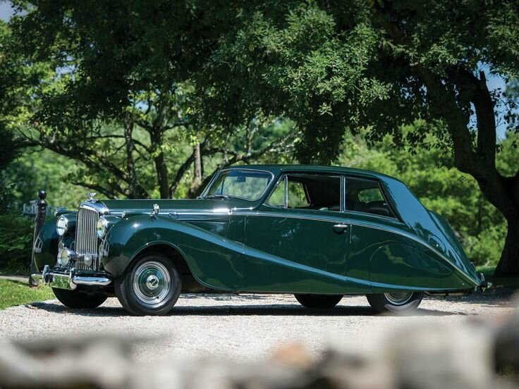 1951 Bentley Mark VI Two-Door Saloon by Hooper