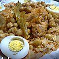 Nouasser recette tunisienne